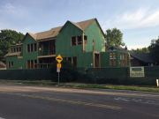Insulated exterior sheathing