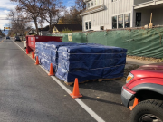 Roof shingles delivered