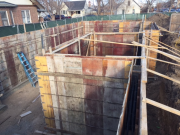 Forming foundation complete