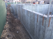 Stripped foundation forms
