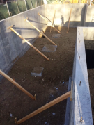 Basement backfill